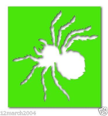 SD143 - Spider Stencils x 5 (suitable for glitter & ink tattoos)