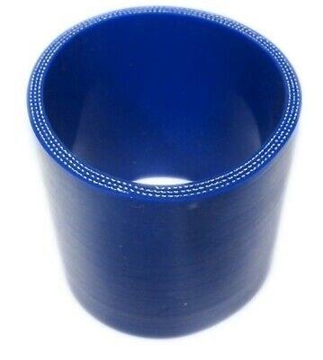 BLUE Silicone Hose Coupler 63mm Straight (2.5 Inch Silicon) Joiner