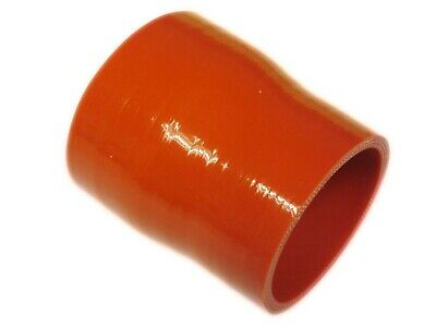 """RED Silicone Hose 63mm to 57mm Straight Reducer (Silicon) 2.5"""" - 2.25"""" (63-57)"""