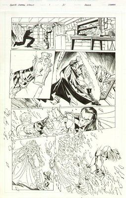 Gen 13: The Unreal World #1 p.31 - All Action - original art by Humberto Ramos