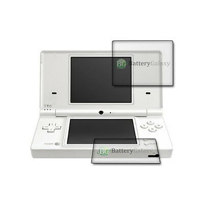 1X 3X 6X 10X Pack Lot BG Clear LCD Screen Shield Protector for Nintendo DS Lite