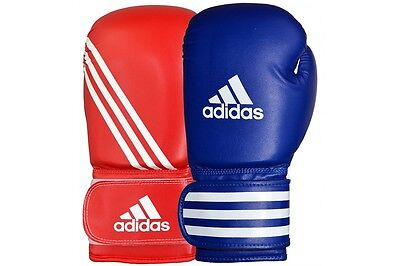 Adidas Boxing Gloves Training Sparring Bag Red Blue New 8oz 10oz 12oz 14oz 16oz