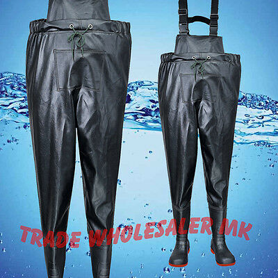 Waders full chest Safety toe Steelites by Portwest fishing-Industrial flood work