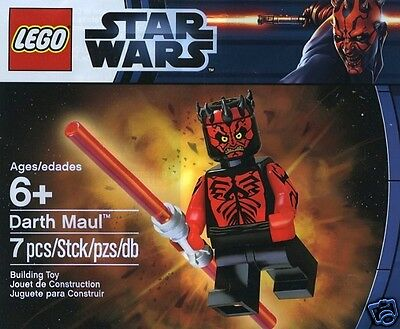 LEGO Star Wars Sondersets Darth Maul 5000062 'oben ohne' shirtless