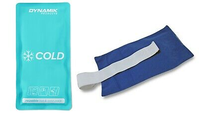 Koolpak Reusable Hot/Cold Pack With Elacstic Holster Arm Leg Hand Knee Elbow Hip