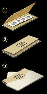 50  #10 SAFE-T-MAILER Corrugated Cardboard Mailers For Coins . Jewelry, Cards