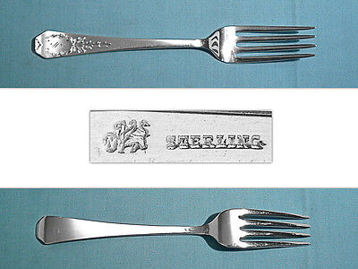 """WHITING MFG STERLING 7 1//2/"""" FORK S ~ IMPERIAL QUEEN ~ MONO REMOVED"""