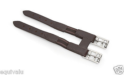 NEW Shires Leather & Elasticated Horse Pony Girth Extension / Extender