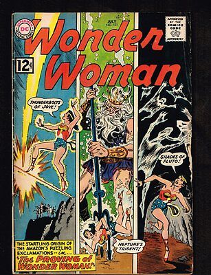 Wonder Woman #131 - ''The Proving of Wonder Woman'' 1962 - (F) WH