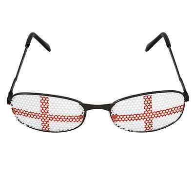 St George England Flag Sunglasses Glasses Specs Fancy Dress Accessory Saint