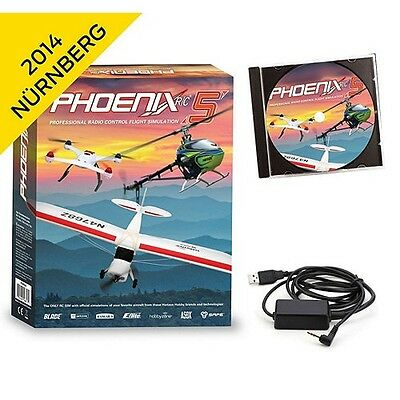 Runtime Games Phoenix R/C Pro Flight Simulator V4.0 w/ Adapter : Spektrum DX4E