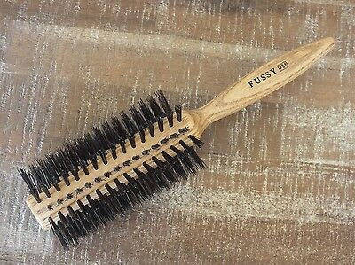 Brosse À Cheveux Ronde Brushing - 12 Rangs 100% Sanglier - 60 Mm
