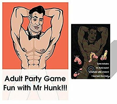 Junk On The Hunk Pin The Willy On Billy Hen Party/Night Game NEW