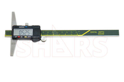 "Shars 0-6"" 150Mm Caliper Digital Electronic Depth Gage Gauge  New"