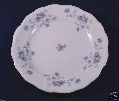 "Rare Vintage Johann Haviland Bavaria Germany Blue Garland  6 1/4"" Plate"