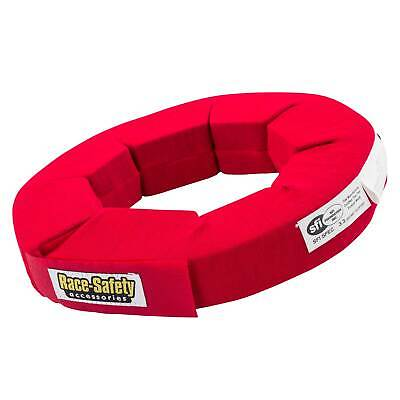 RSA Karting Driver Protection Neck Support/High Density Brace - Adult Size / Red