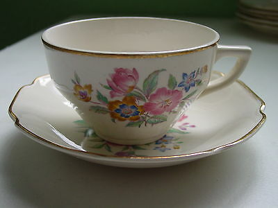 Taylor Smith & Taylor Pattern #543 Cup & Saucer