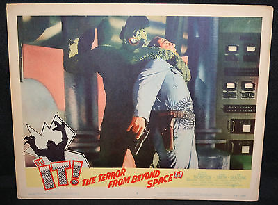 IT! The Terror from Beyond Space LOBBY CARD 58/340 Horror SCI-FI (C-7) 1958
