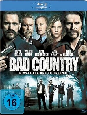 Blu-ray * Bad Country * NEU OVP * Matt Dillon, Willem Dafoe