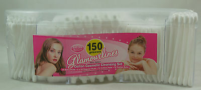 Cosmetic Cotton Cleansing Set 150 Pieces 100% Cotton Baby Buds/buds/pads/balls