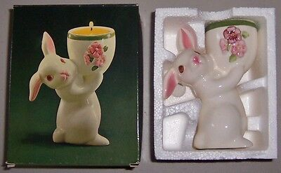 "Avon Vintage 1981 ""Sunny Bunny"" Hand Painted Ceramic Fragrance Candlette - NEW!"