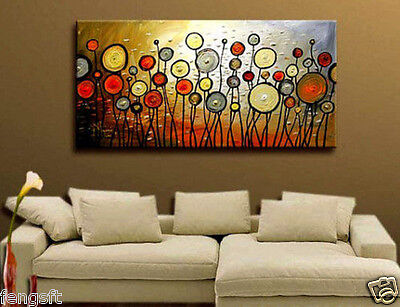 BEAUTIFUL MODERN ABSTRACT HUGE LARGE CANVAS ART OIL PAINTING