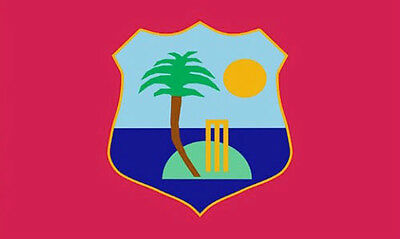 WEST INDIES FLAG 5' x 3' Caribbean Jamaica Windies Cricket Team