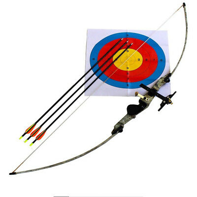 Brand New Longbow / Recurve Bow, Black And Camo Archery, Different Variations