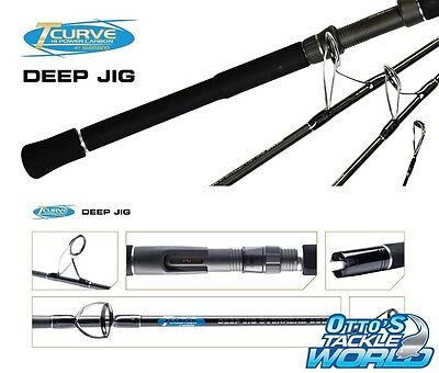 Shimano TCurve Deep Jig - Overhead Jigging Fishing Rod BRAND NEW at Otto's