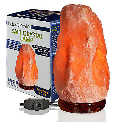 Healthy Himalayan Crystal Salt lamps 5 ~ 7 Lbs,1Lot