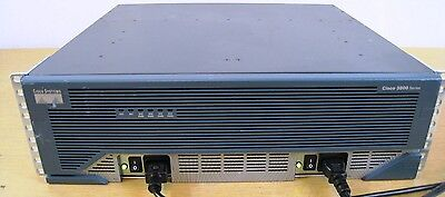 CISCO 3845 Intergrated Router IOS 15.1 1GB Dram/256MB Flash w/ DUAL Power Supply