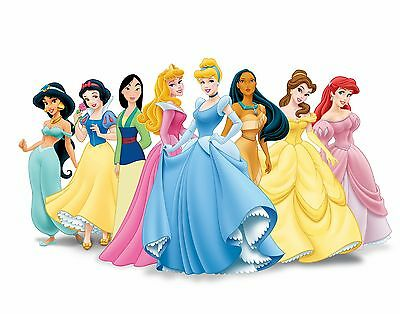 Disney Princess- kids bedroom - Giant Wall Art Picture Poster A1,A2,A3,A4