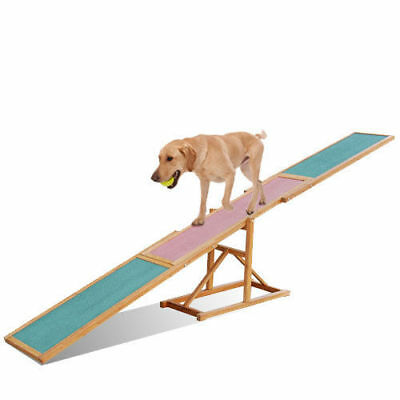 Dog Pet Training Agility Obedience Equipment Seesaw See-saw 3m Teeterboard