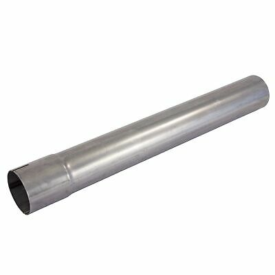 "Jetex Universal Straight Exhaust Tube- 2.5"" Bore Size - 500mm Length- Mild"