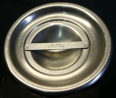 VINTAGE STAINLESS VOLLRATH ROUND BAIN MARIE LID/ COVER 79020