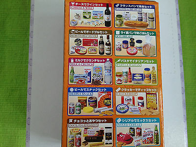 Doll Megahouse-  Imported food snacks - wine cheese biscuit x 10 RARE