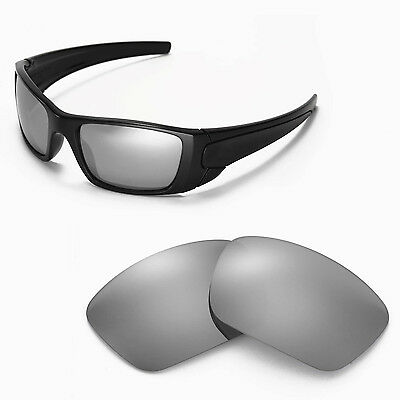 New Walleva Titanium Replacement Lenses For Oakley Fuel Cell Sunglasses
