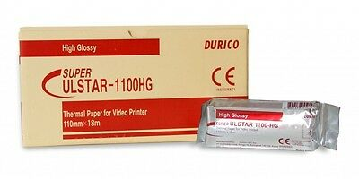 Ultrasound Paper Durico High Glossy 1100Hg Box X 5 Rolls