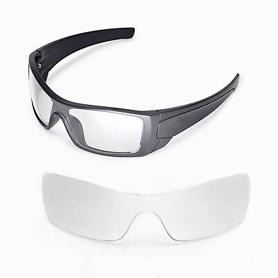 New Walleva Clear Replacement Lenses For Oakley Batwolf Sunglasses