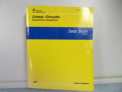 Texas Instruments Linear Circuits Operational Amplifiers Data Book