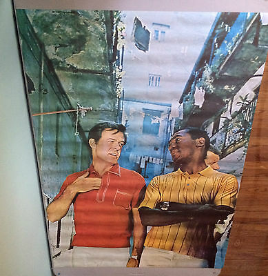 """""""I Spy"""" Poster Cosby Culp Scott Robinson 1968 Personality Posters TV television"""
