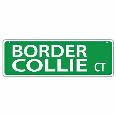 Plastic Street Signs: BORDER COLLIE BLVD | Dogs, Gifts, Decorations