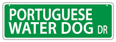 Plastic Street Signs: PORTUGEUSE WATER DOG DRIVE | Dogs, Gifts