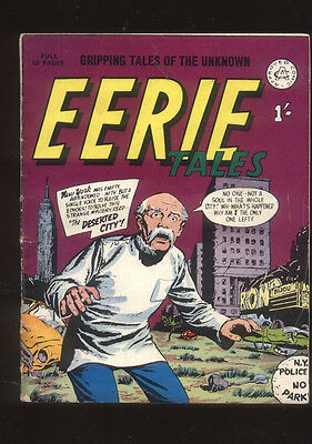 Eerie Tales Gripping Tales of the Unknown British Comic 60s reprint CBX13A
