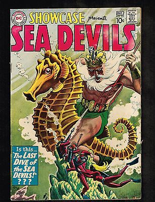 "Showcase #29 ~Sea Devils ""Last Dive of the Sea Devils"" ~ 1960 (6.5) WH"