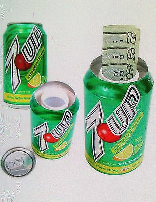 7Up Soda Can Diversion Safe Hidden Home Security Secret Compartment Hide Jewelry