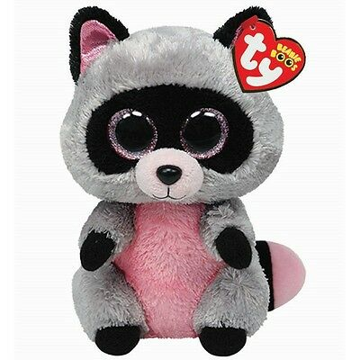 Ty Beanie Babies 36727 Boos Rocco the Raccoon Boo