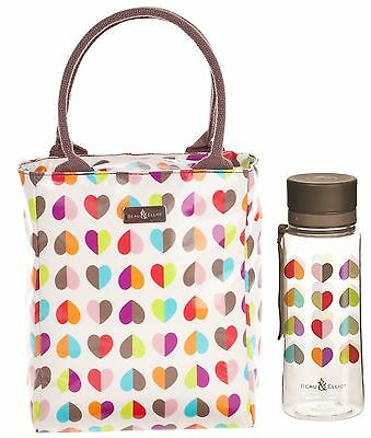 Beau & Elliot Confetti Ladies Insulated Lunch Tote and Hydration Bottle