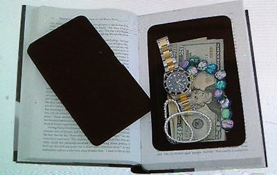 Book Diversion Safe Hidden Home Security Secret Fake Stash Hide Jewelry Cash NEW