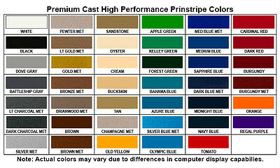 """1/"""" x 150 ft Roll Oracal Vinyl Pinstriping Pinstripe Tape 63 Colors available"""
